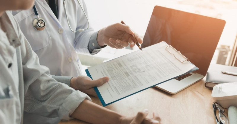 What is the purpose of peer review in health care?